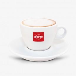 Caffè Pertè - Új Piros Logós Cappuccino Csésze Szett